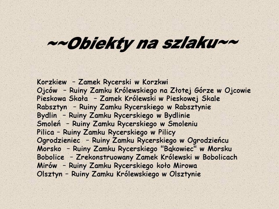 ~~Obiekty na szlaku~~ Korzkiew – Zamek Rycerski w Korzkwi