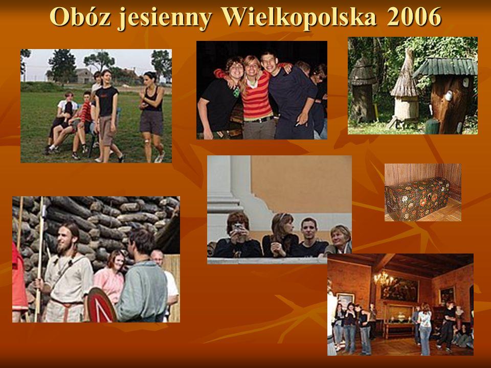 Obóz jesienny Wielkopolska 2006