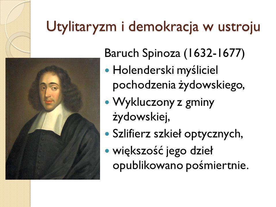 Utylitaryzm i demokracja w ustroju