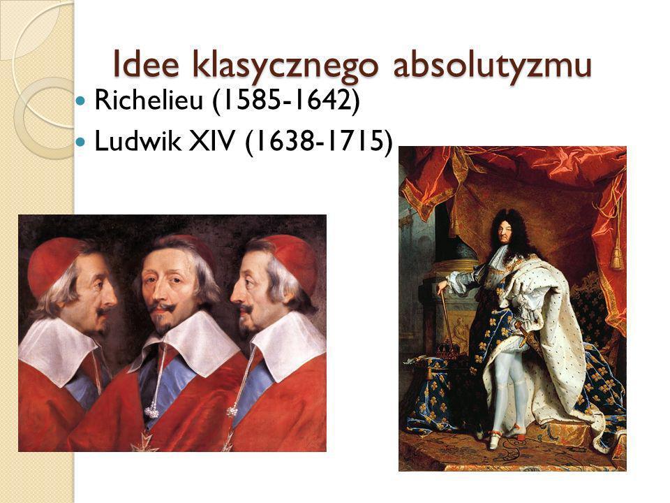 Idee klasycznego absolutyzmu