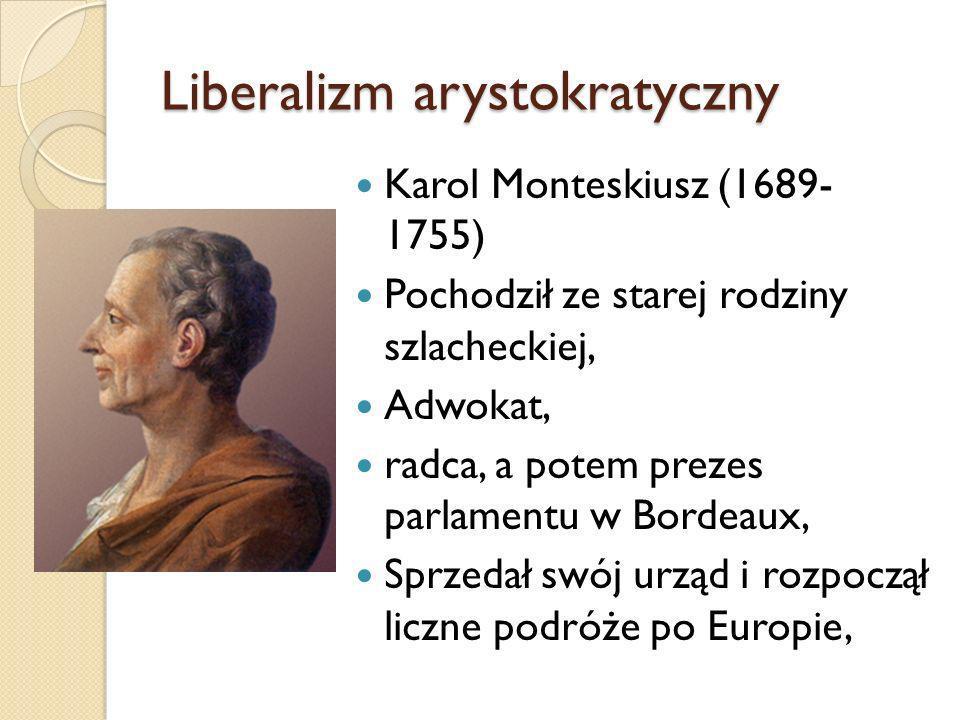 Liberalizm arystokratyczny