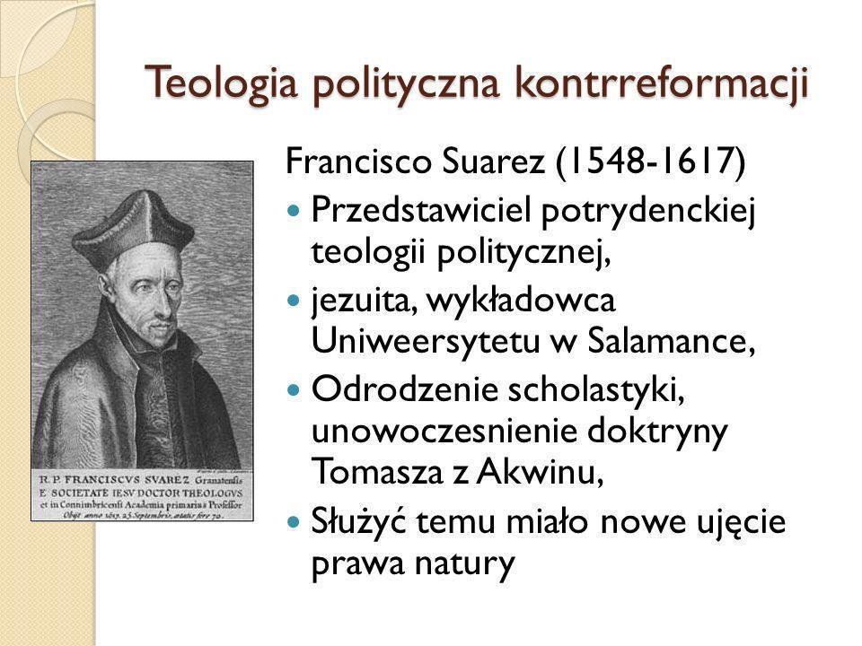 Teologia polityczna kontrreformacji