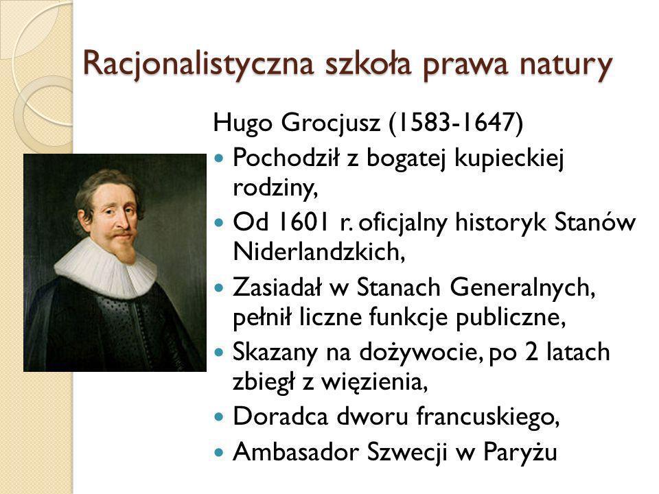 Racjonalistyczna szkoła prawa natury