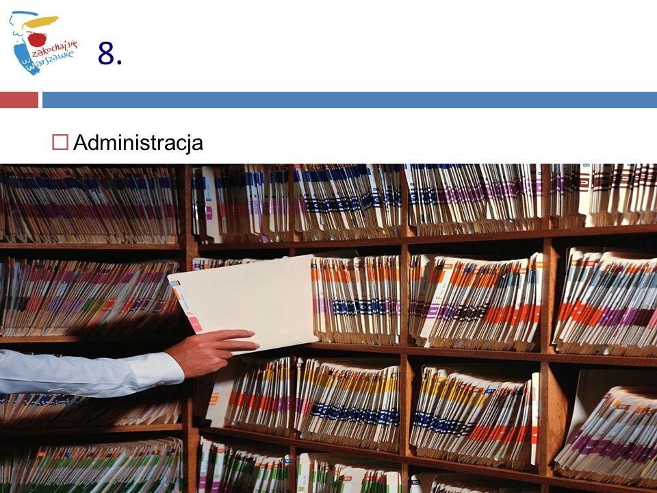 8. Administracja 55 55