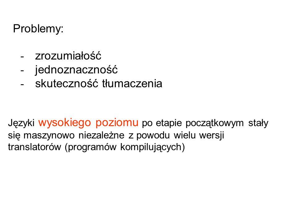 - skuteczność tłumaczenia