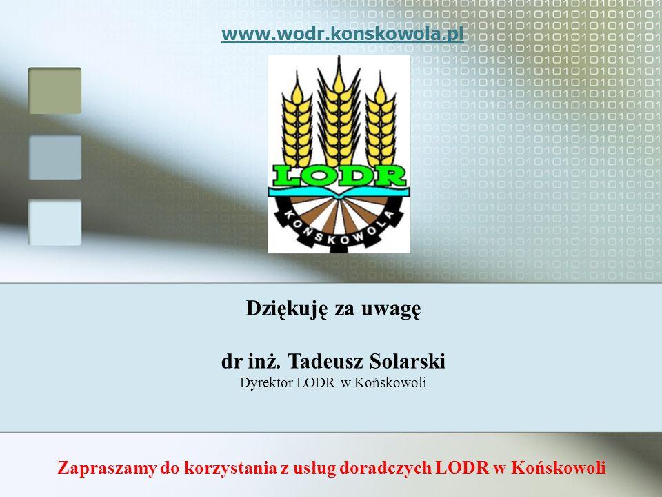 Zapraszamy do korzystania z usług doradczych LODR w Końskowoli