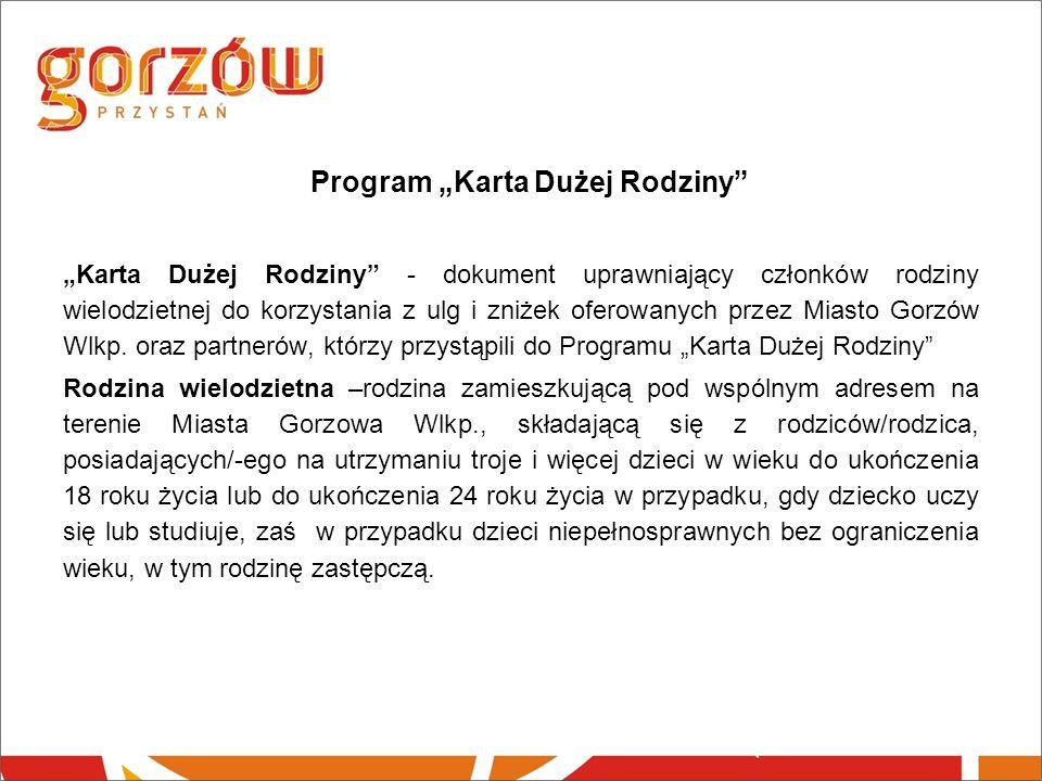 """Program """"Karta Dużej Rodziny"""
