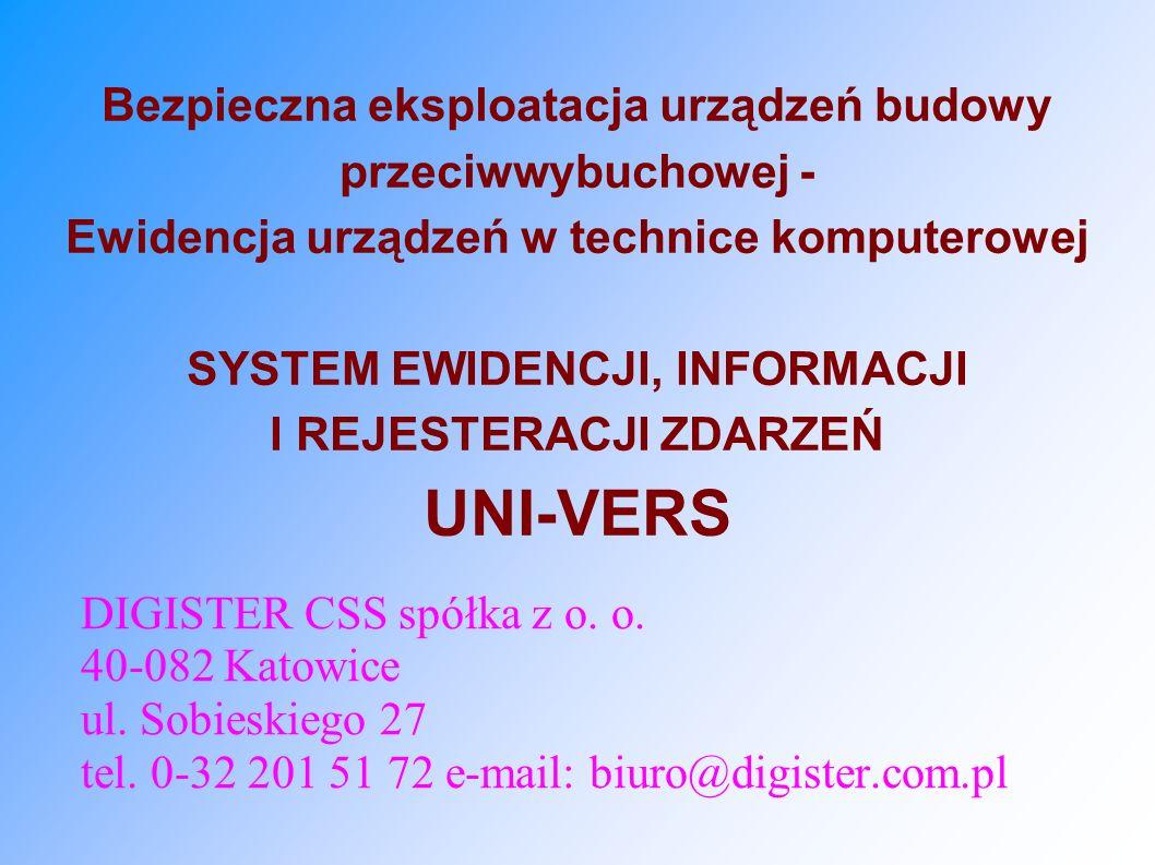 DIGISTER CSS spółka z o. o. 40-082 Katowice ul. Sobieskiego 27