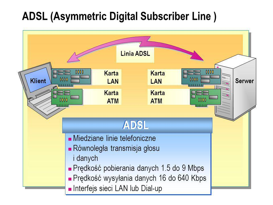 ADSL (Asymmetric Digital Subscriber Line )