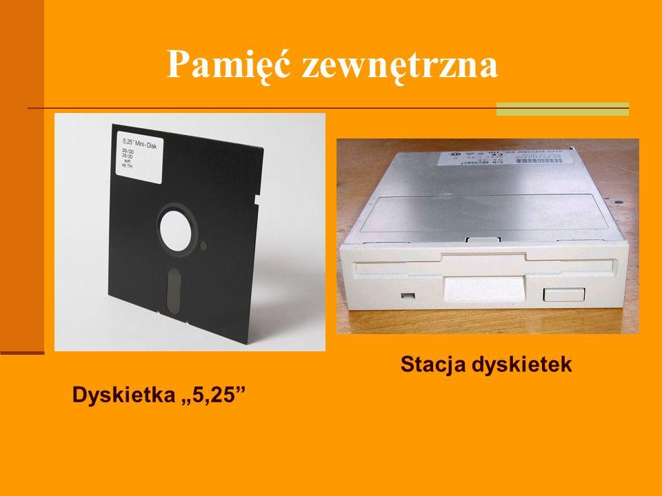 """Pamięć zewnętrzna Stacja dyskietek Dyskietka """"5,25"""