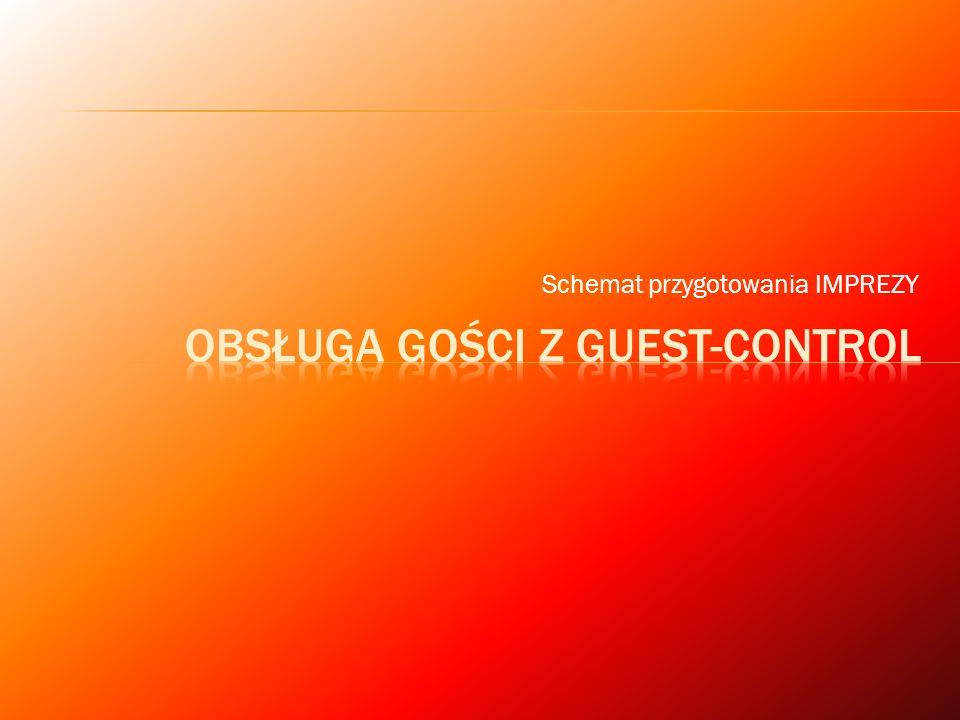 Obsługa gości z Guest-control