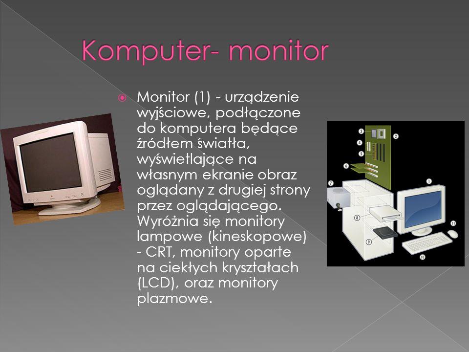 Komputer- monitor