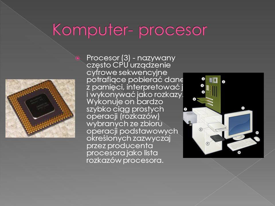 Komputer- procesor