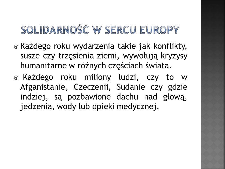 Solidarność w sercu Europy