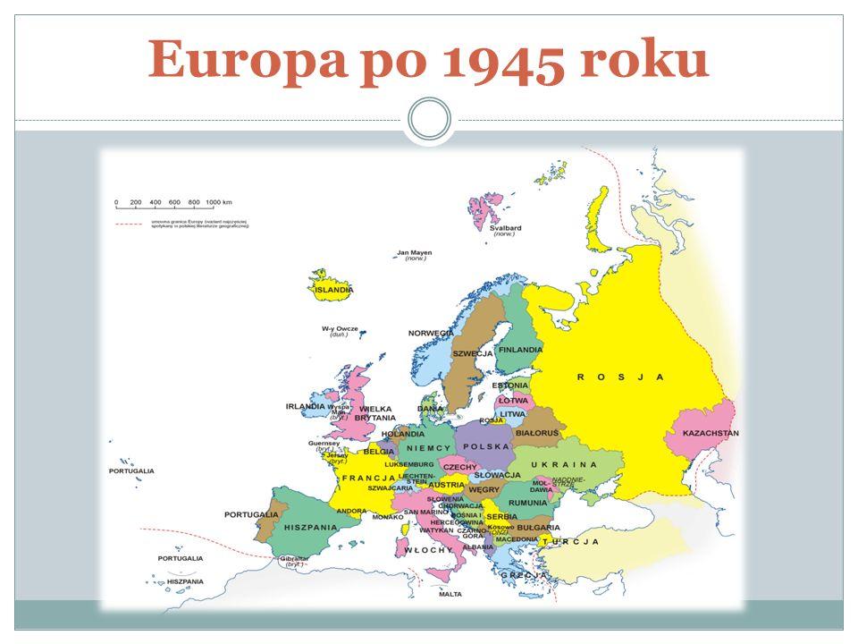 Europa po 1945 roku