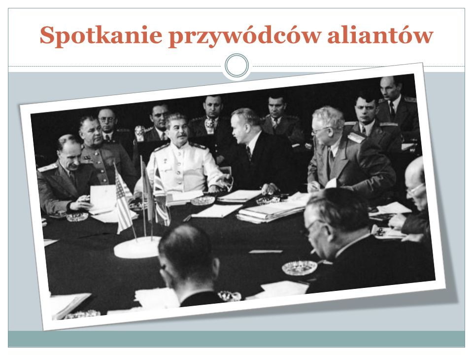 Spotkanie przywódców aliantów