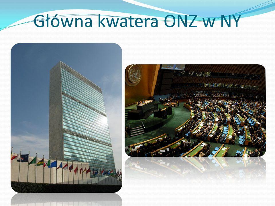 Główna kwatera ONZ w NY