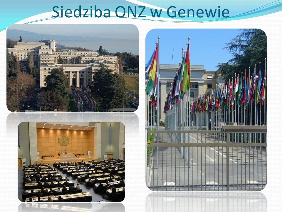 Siedziba ONZ w Genewie