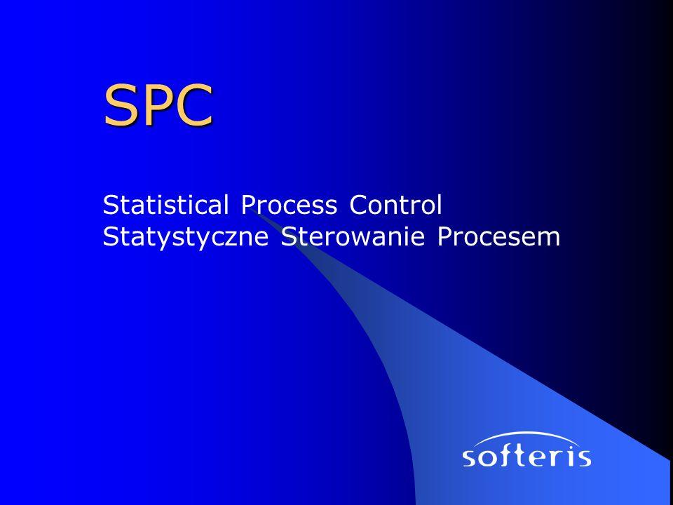 Statistical Process Control Statystyczne Sterowanie Procesem