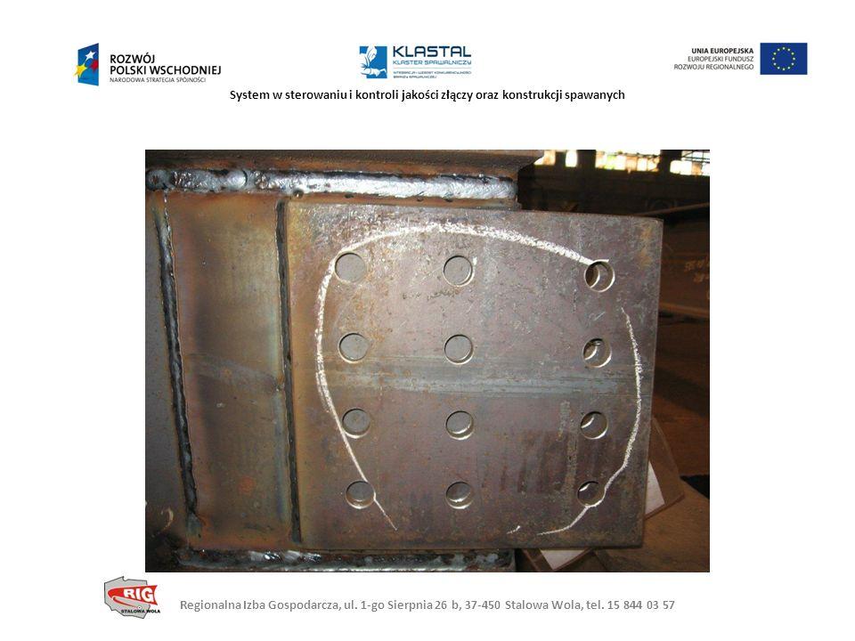 System w sterowaniu i kontroli jakości złączy oraz konstrukcji spawanych