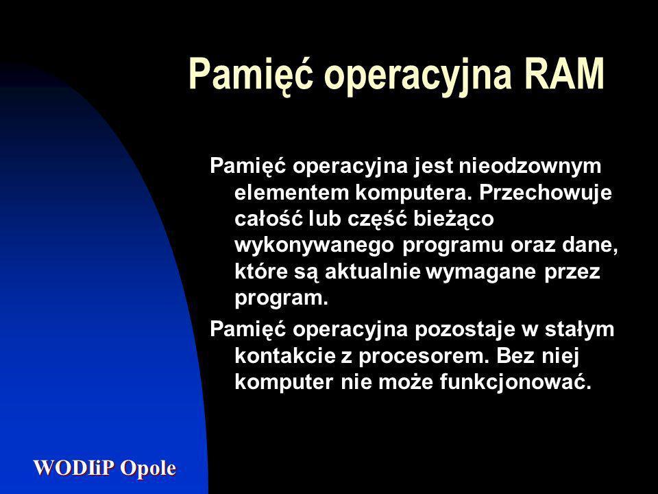 Pamięć operacyjna RAM