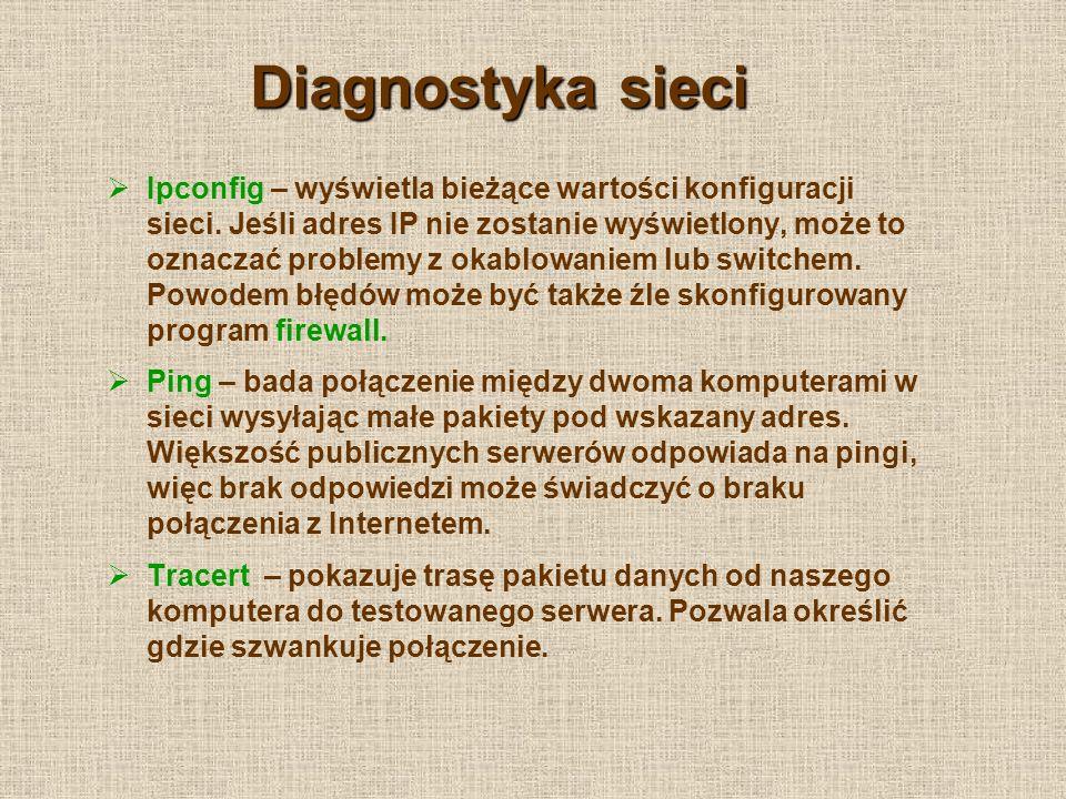 Diagnostyka sieci