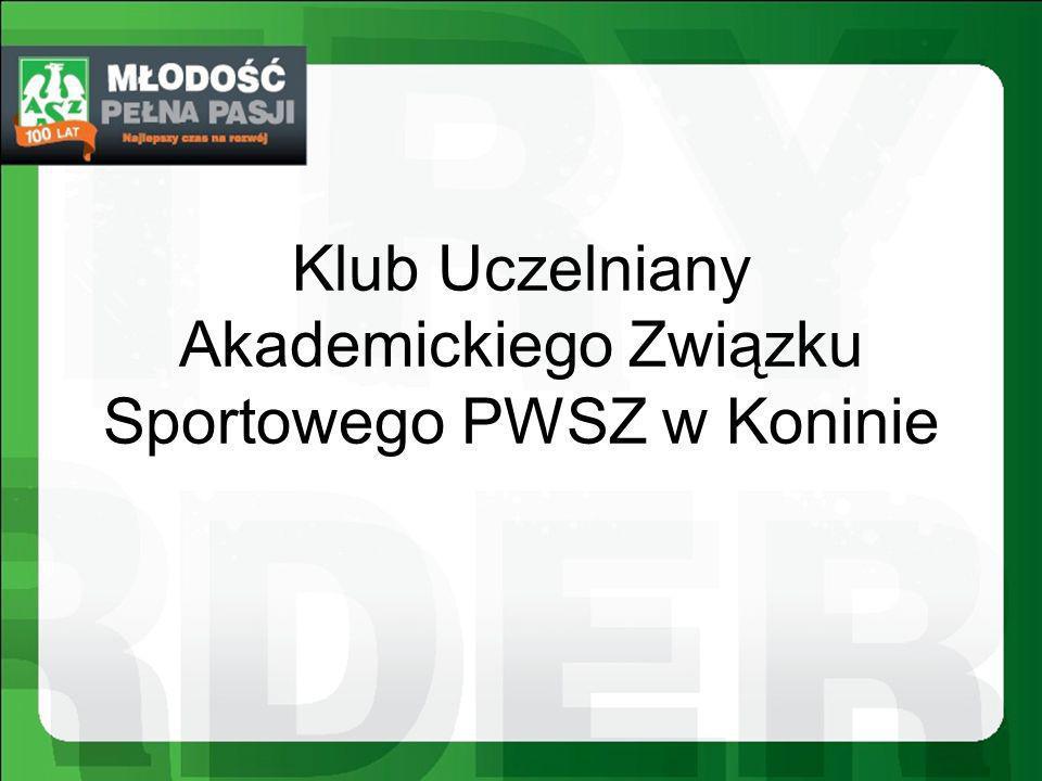 Klub Uczelniany Akademickiego Związku Sportowego PWSZ w Koninie