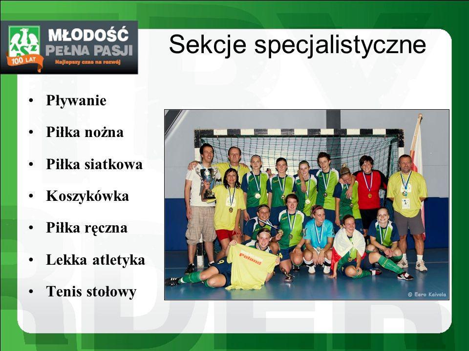 Sekcje specjalistyczne