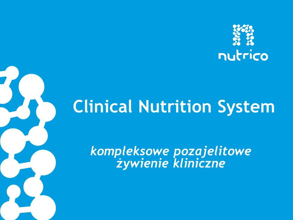 Clinical Nutrition System