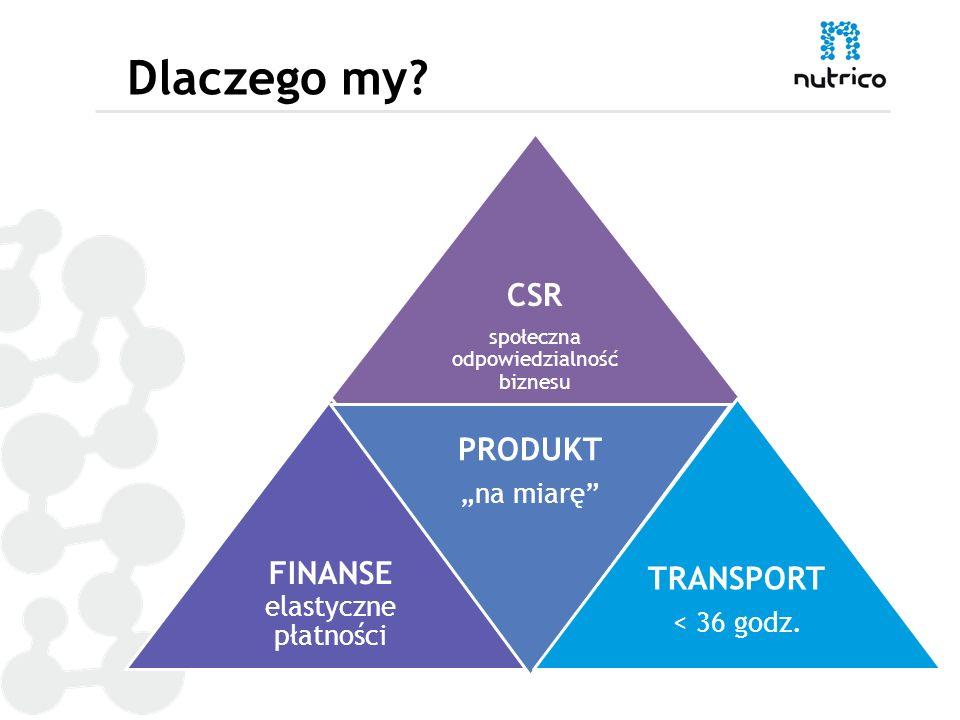Dlaczego my CSR PRODUKT FINANSE elastyczne płatności TRANSPORT