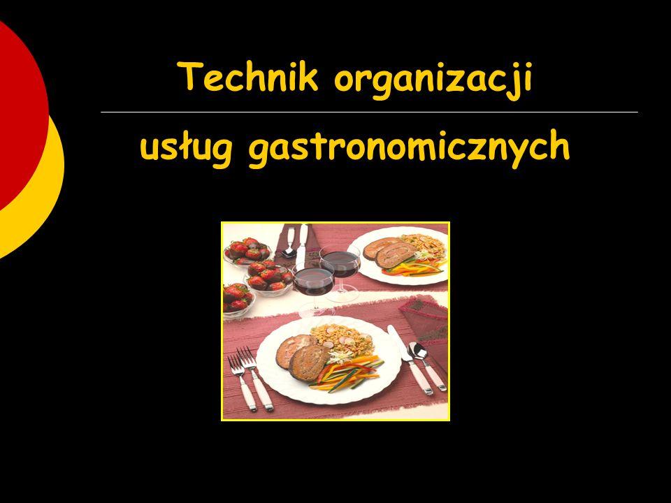 usług gastronomicznych
