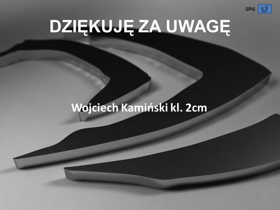 Wojciech Kamiński kl. 2cm