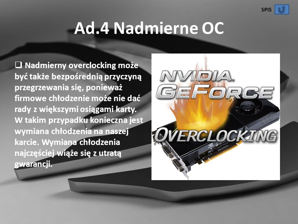 SPIS Ad.4 Nadmierne OC.