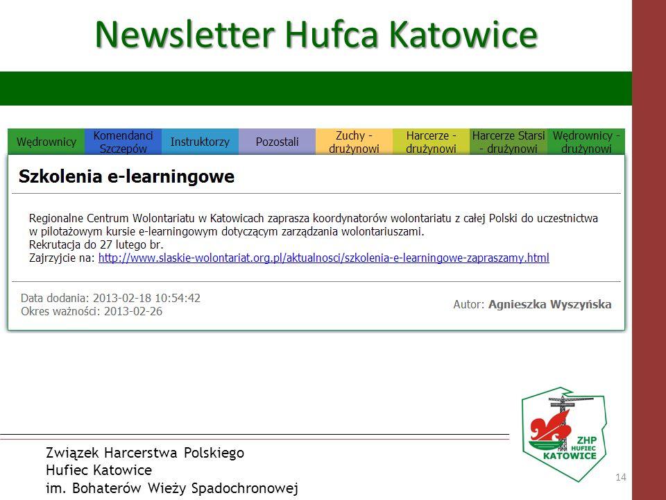 Newsletter Hufca Katowice
