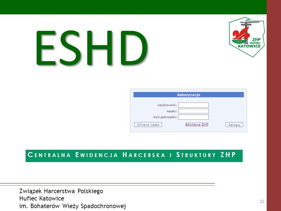 ESHD Związek Harcerstwa Polskiego Hufiec Katowice