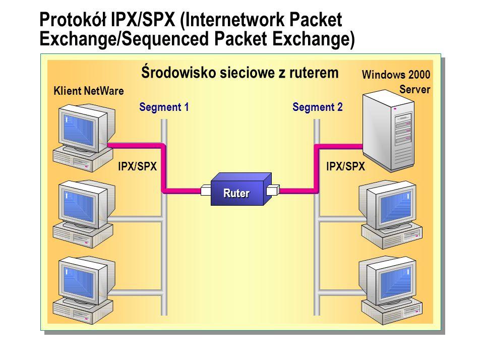 Środowisko sieciowe z ruterem