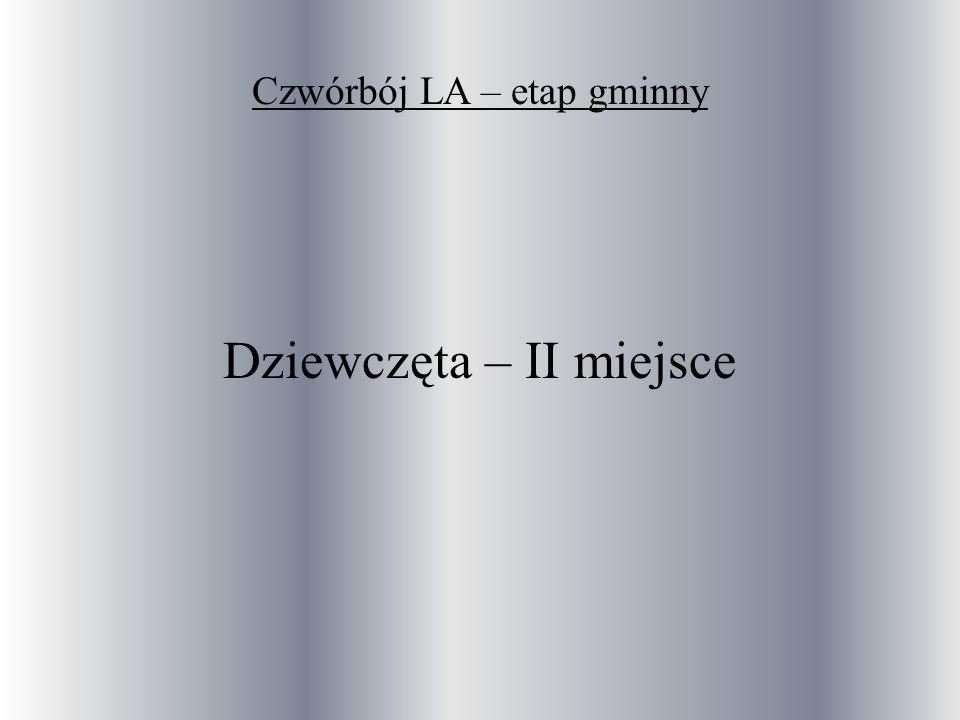 Czwórbój LA – etap gminny