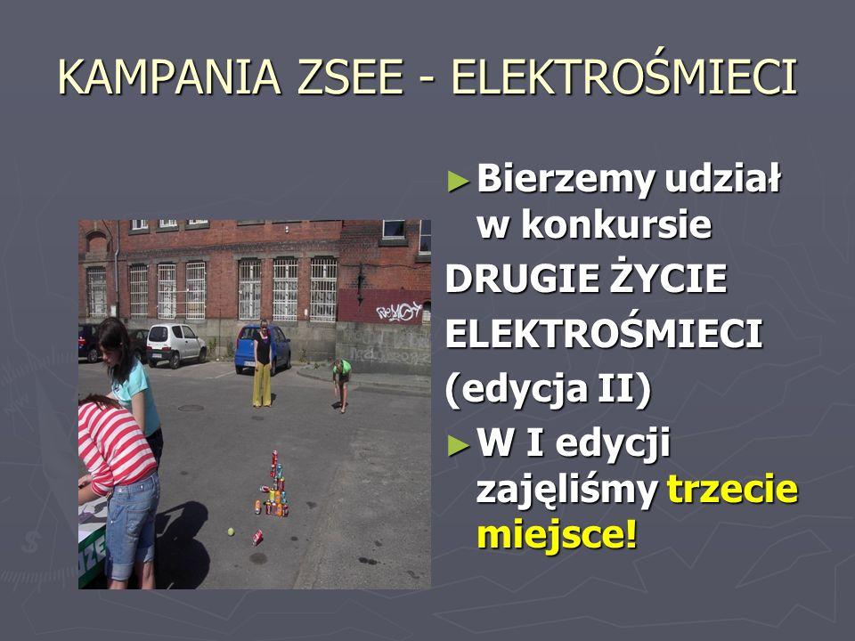 KAMPANIA ZSEE - ELEKTROŚMIECI