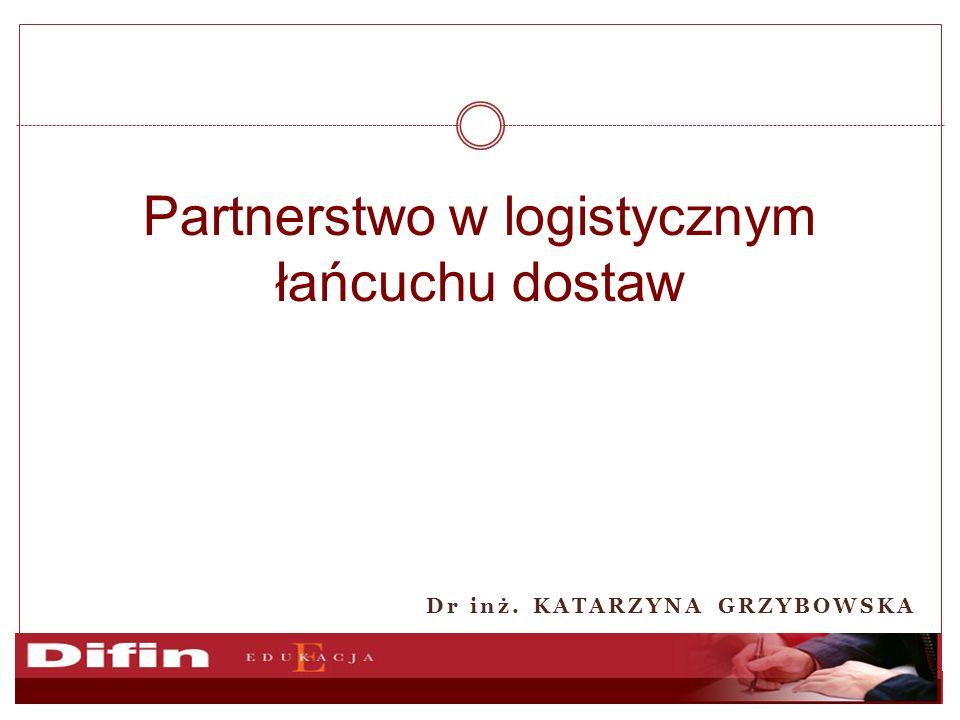 Partnerstwo w logistycznym łańcuchu dostaw