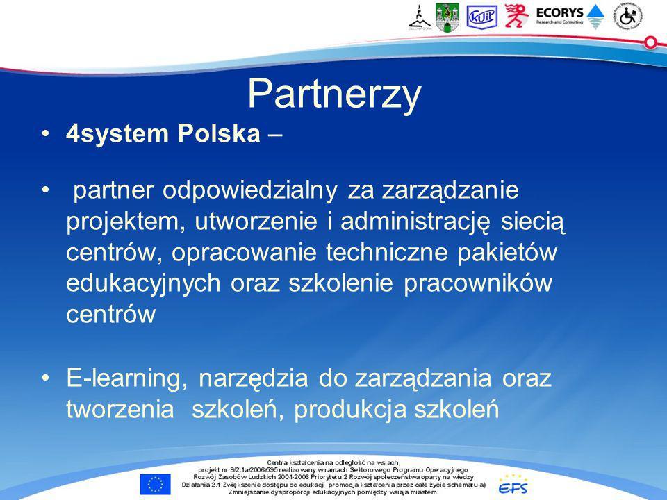 Partnerzy 4system Polska –