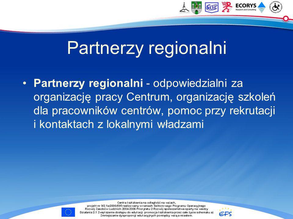 Partnerzy regionalni