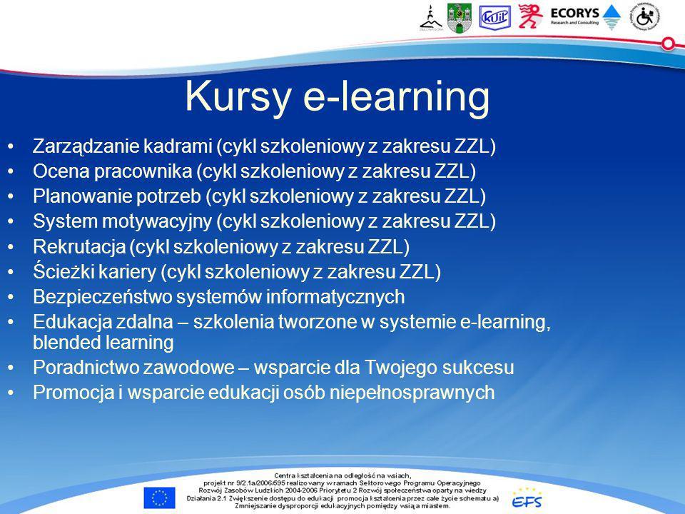 Kursy e-learning Zarządzanie kadrami (cykl szkoleniowy z zakresu ZZL)
