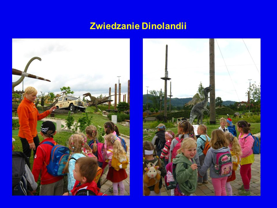 Zwiedzanie Dinolandii