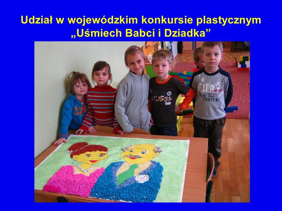"""Udział w wojewódzkim konkursie plastycznym """"Uśmiech Babci i Dziadka"""