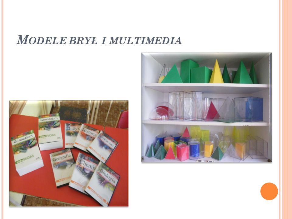 Modele brył i multimedia