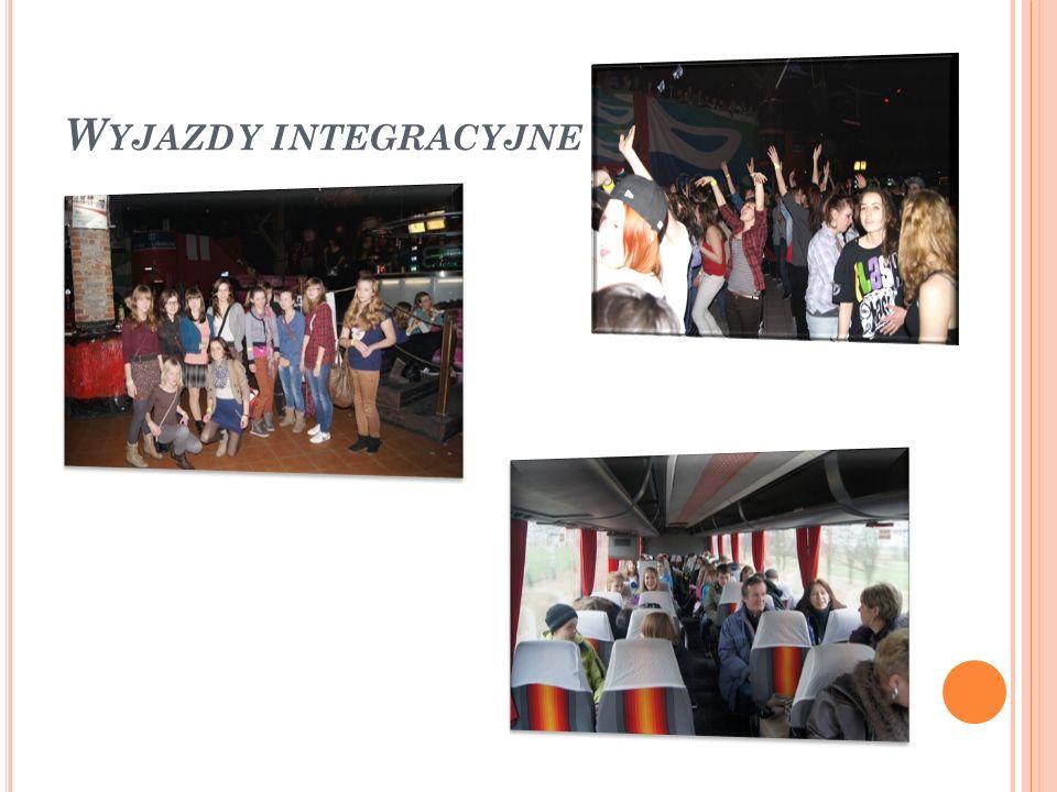 Wyjazdy integracyjne