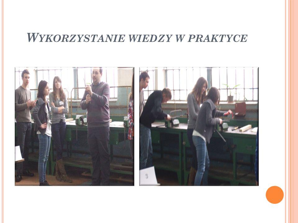 Wykorzystanie wiedzy w praktyce