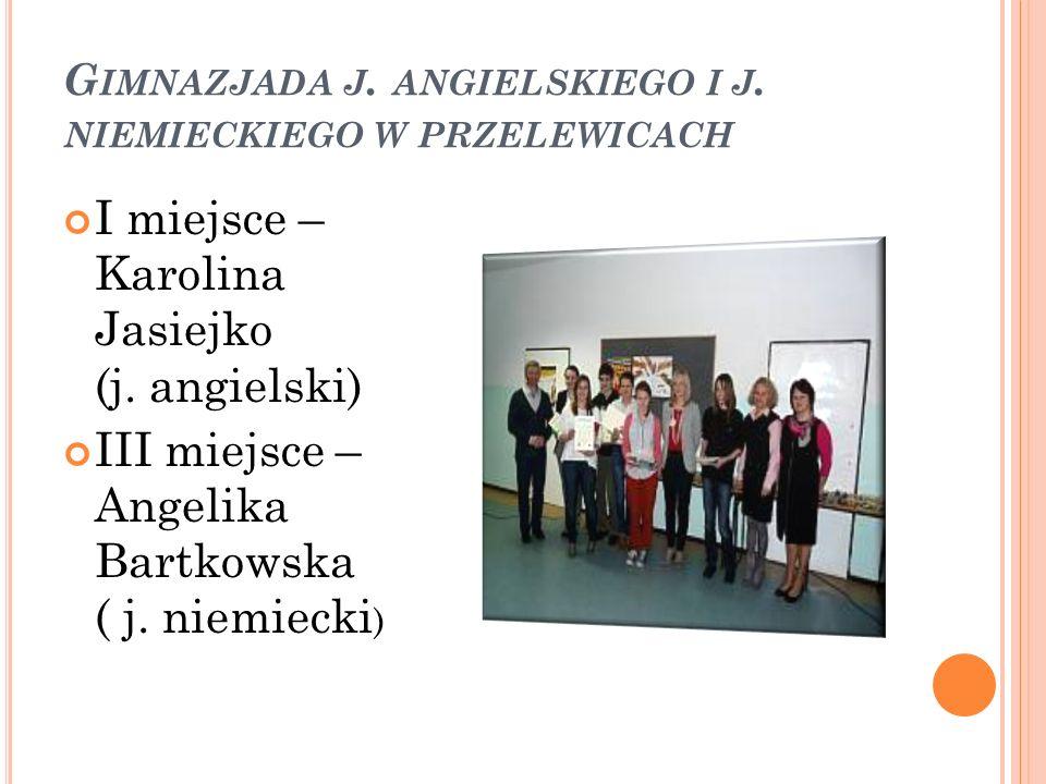 Gimnazjada j. angielskiego i j. niemieckiego w przelewicach
