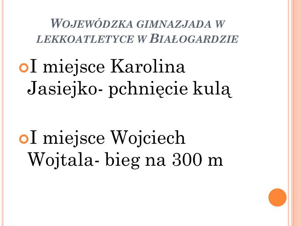 Wojewódzka gimnazjada w lekkoatletyce w Białogardzie