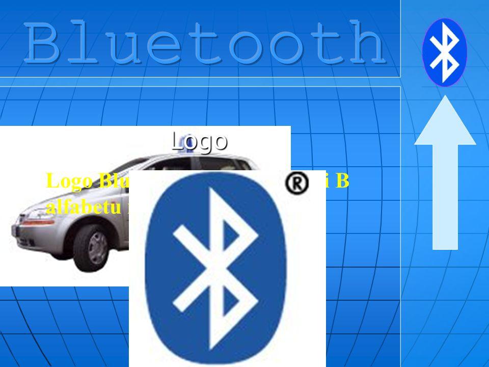 Bluetooth Logo Logo Bluetooth łączy litery H i B alfabetu runicznego.